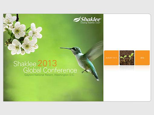 Shaklee Conference Presentation Design Image