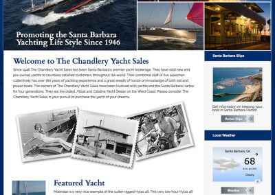 Chandlery Website
