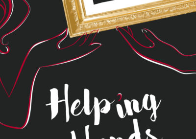 "Movie Poster ""HELPING HANDS"""